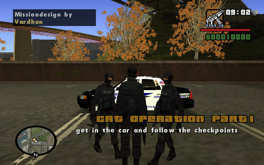Killing a group of Robbers DYOM Mission
