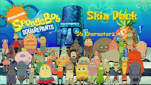SpongeBob Skin Pack