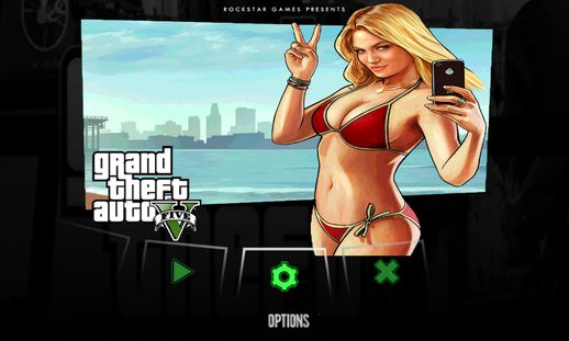 GTA V Menu & Loadscreen for Android