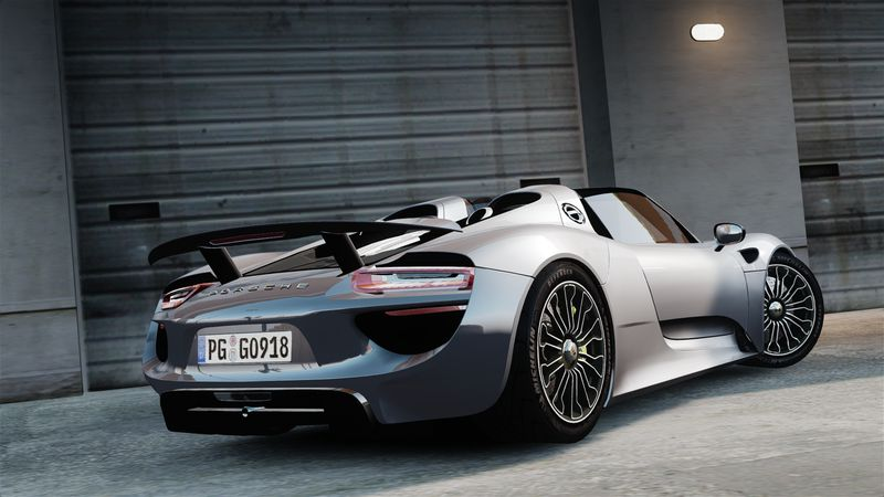 gta 4 2015 porsche 918 spyder mod. Black Bedroom Furniture Sets. Home Design Ideas