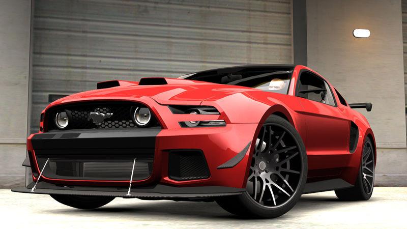 Gta 4 2014 Ford Mustang Gt Custom Kit Mod Gtainside Com