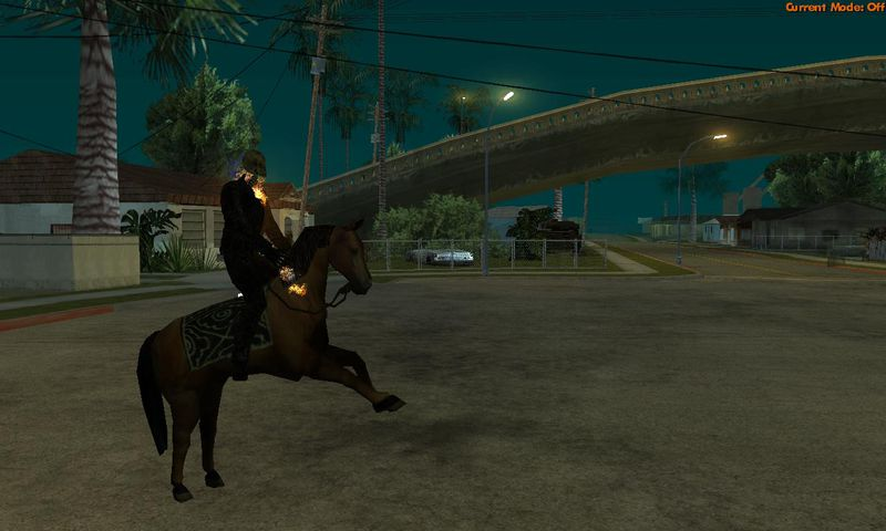 GTA San Andreas GhostRider Mod With Power Mod - GTAinside com