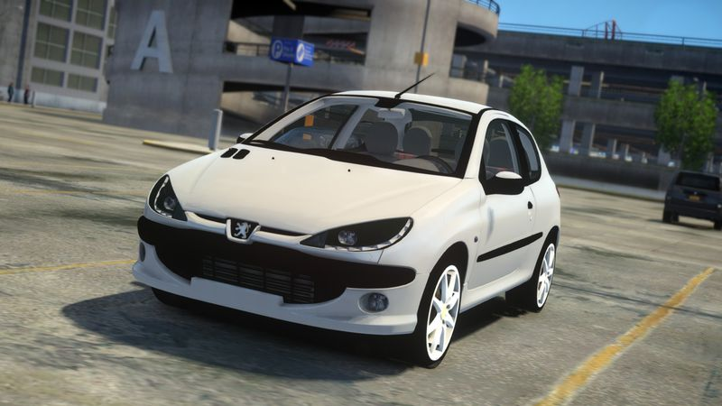 gta 4 1999 peugeot 206 xs mod. Black Bedroom Furniture Sets. Home Design Ideas