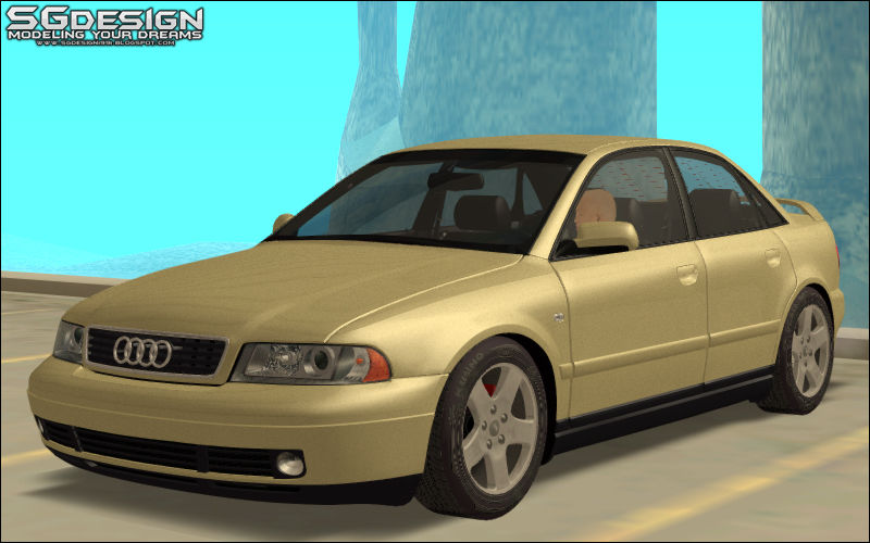 Gta San Andreas 2000 Audi A4 Stock Mod Gtainsidecom