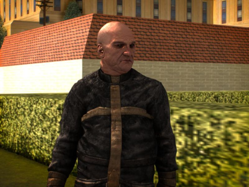 GTA San Andreas Father Martin From Outlast Mod - GTAinside.com