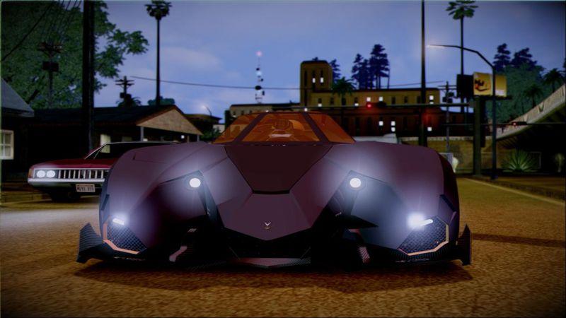 Gta San Andreas Lamborghini Egoista V2 Mod Gtainside Com