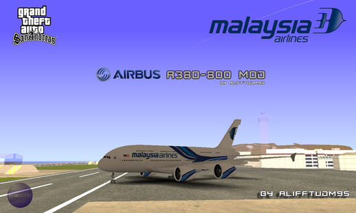 Malaysia Airline Airbus A380-800 Mod
