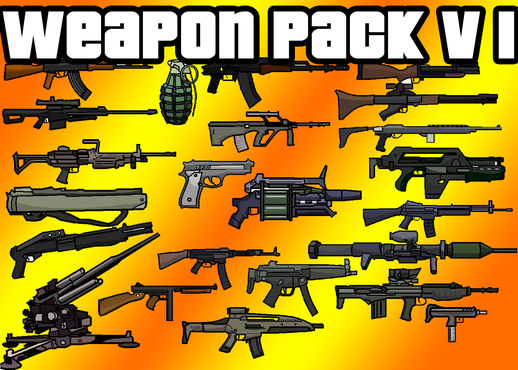 GTA 5 Weapons Pack