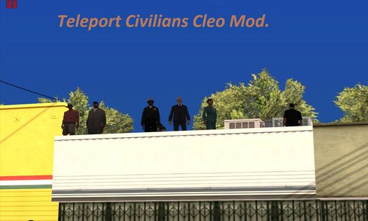 Teleport Civilians Cleo