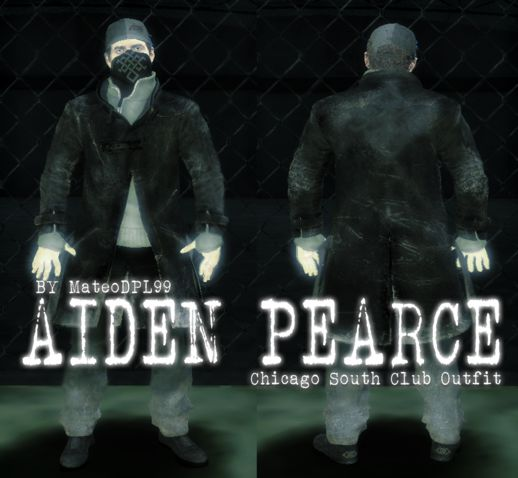 Aiden Pearce Chicago South Club