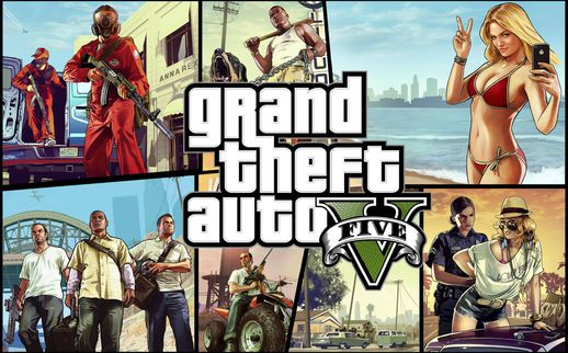 GTA V Loadscreen and Theme Song GTA V