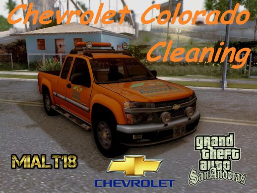 Chevrolet Colorado Cleaning