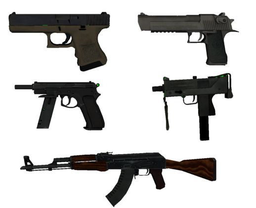 Pack of Arms CS GO V1.0