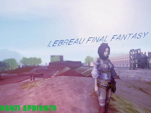 Lebreau From Final Fantasy
