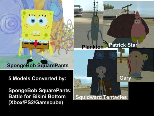 SpongeBob 5 New Skins