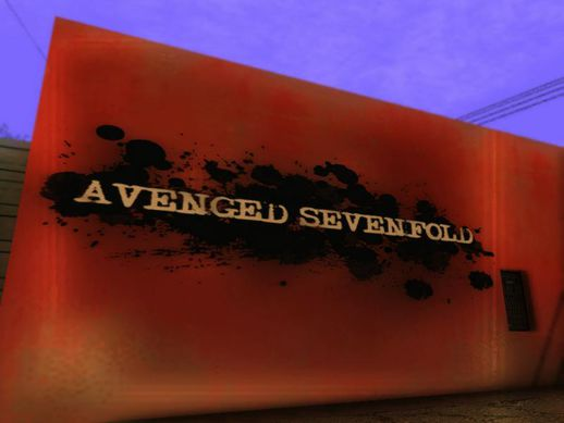 Avenged Sevenfold Wall V.2