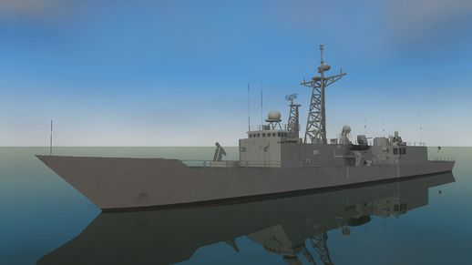US Navy Frigate (driveable)