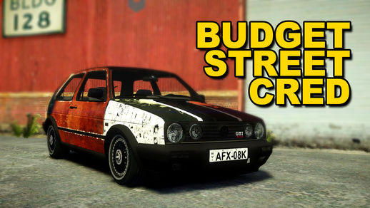 Mighty Car Mods VW Golf (Budget Street Cred) Livery