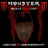 Monster Energy Black Red Cap