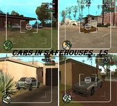 Cars in Safehouses LS
