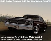 Dodge Coronet 440 Hardtop Coupe (WH23) 1967