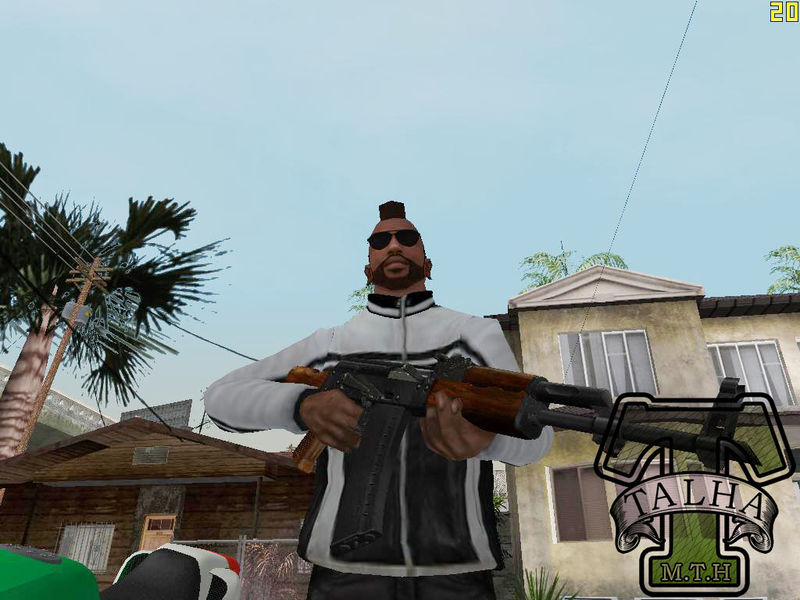 Gta San Andreas Niko Bellic Biker Jacket For Cj Mod