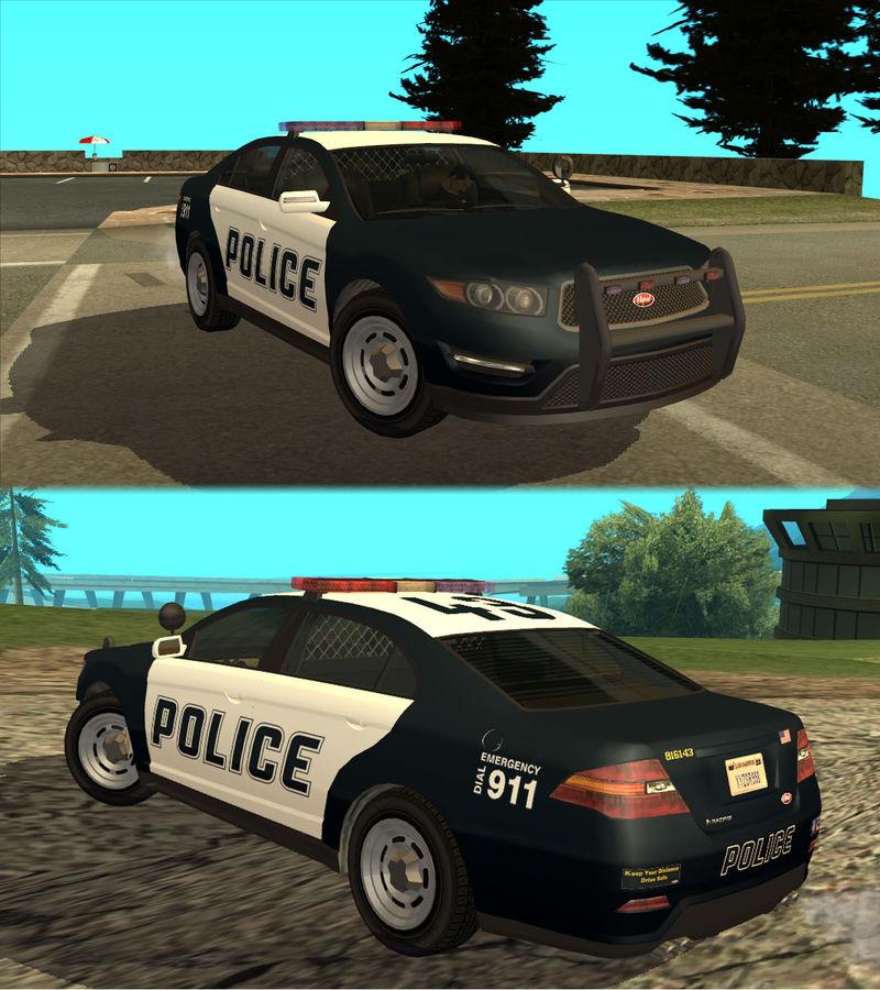 GTA San Andreas Vapid Police Interceptor Mod