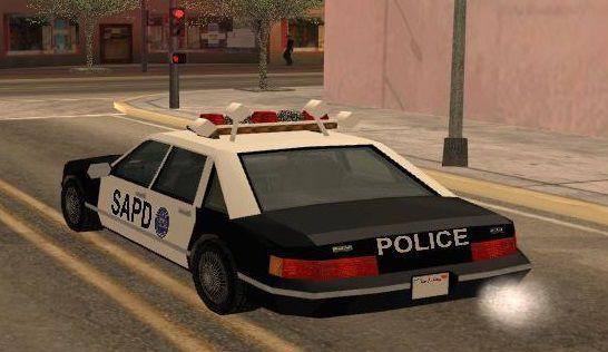 GTA San Andreas GTA 3 Police Car Mod - GTAinside com