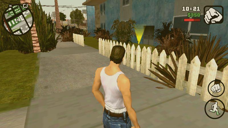 GTA San Andreas Enter any house Mod for Android Mod - GTAinside com