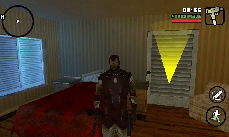 GTA San Andreas Tony Stark and Iron Man Skin for Android Mod