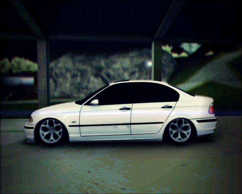 GTA San Andreas BMW 320 e46 Sedan Mod  GTAinsidecom