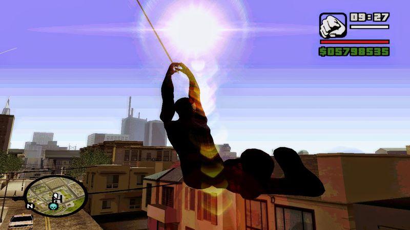 скачать мод на Spider Man для Gta San Andreas - фото 6