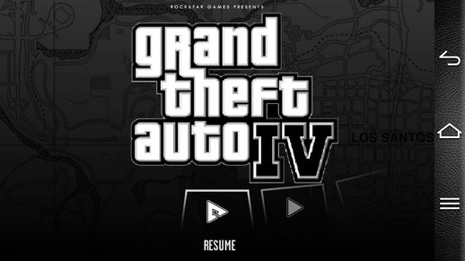 GTA IV Loadscreen for Android