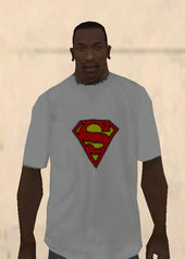 Superman Shirt White