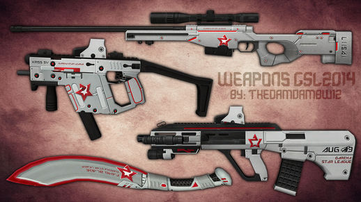 PointBlank Weapons GSL2014