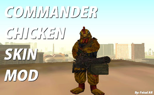 Commander Chicken (Killing Floor)