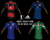Adidas Jerseys from WC 2014 for TIP