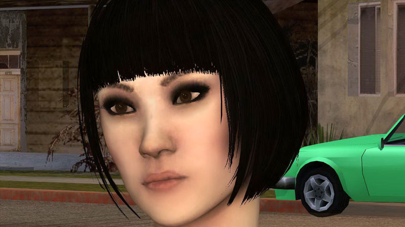 Gta San Andreas Sandra From Sleeping Dogs Mod Gtainside Com