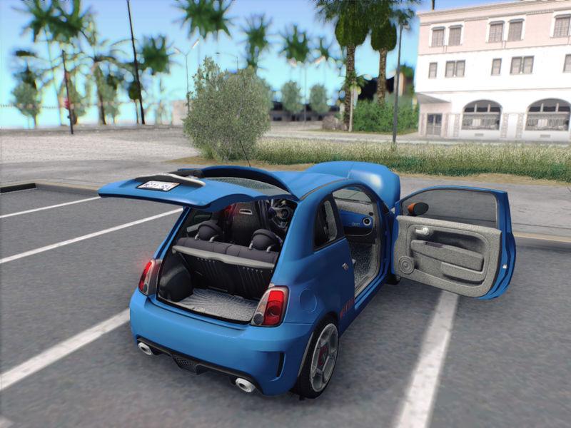 Fiat abarth mods