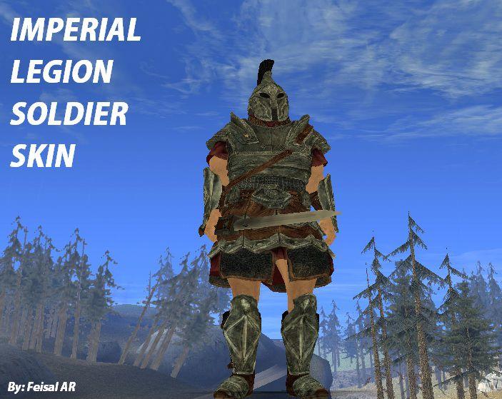 Imperial soldier skyrim