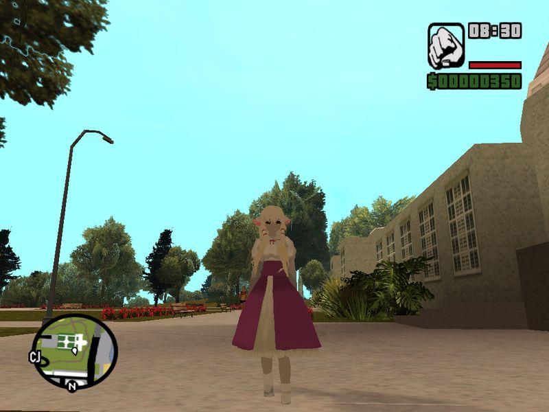 GTA San Andreas Chobits Chii Mod