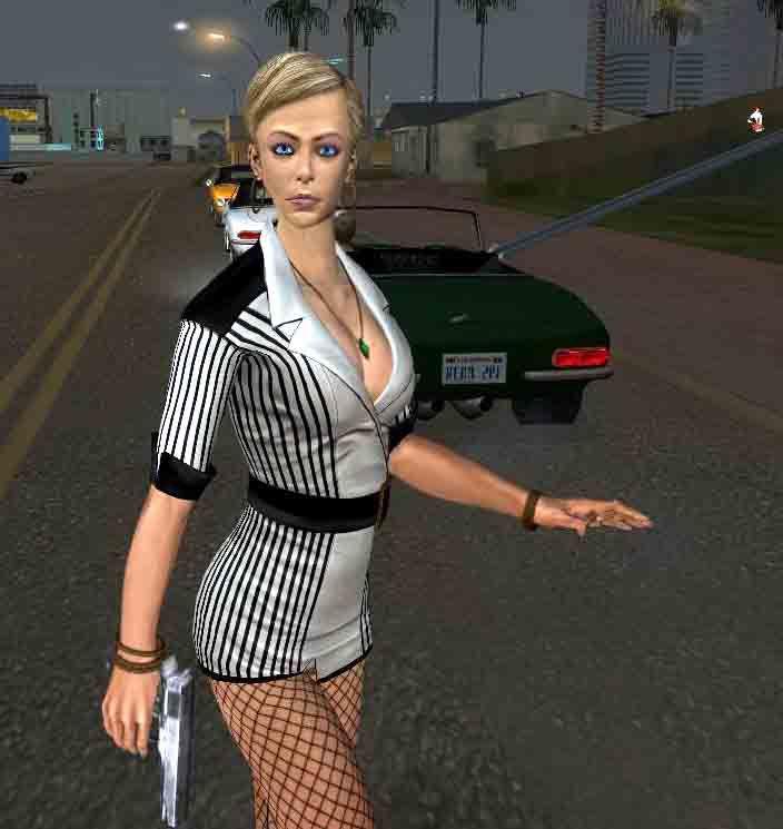 Gta San Andreas Tracy From Batman Bao Mod Gtainside Com