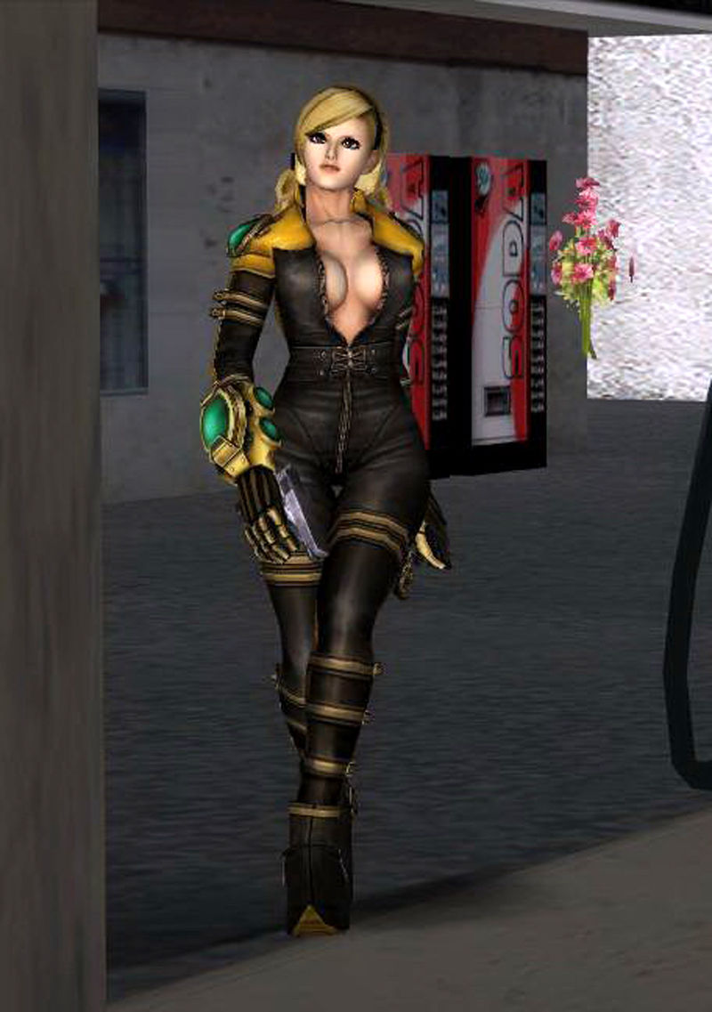 Gta San Andreas Lien Neville From King Of Fighters Mod