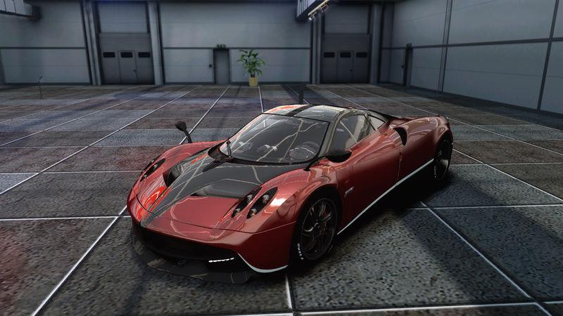 Gta 4 Transformers Iv Carbon Paintjob For Pagani Huayra