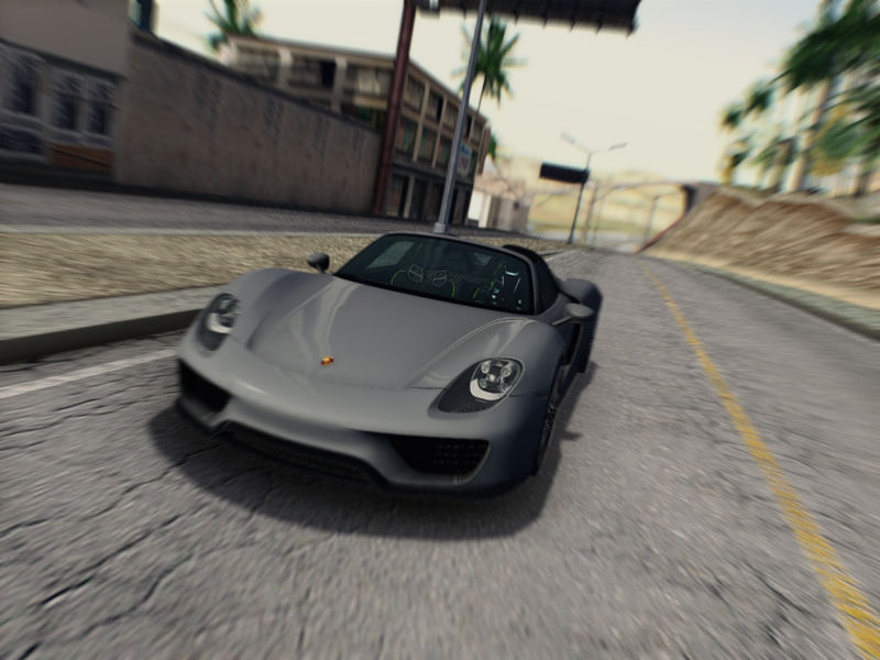 gta san andreas porsche 918 spyder 2013 v3 final mod. Black Bedroom Furniture Sets. Home Design Ideas