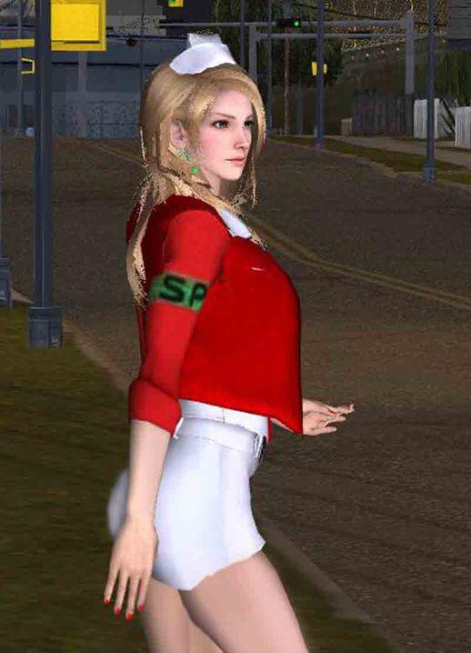 Gta San Andreas Lisa Garland Nurse From Silent Hill Mod
