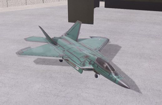 F-22A Raptor Unpainted Factory texture