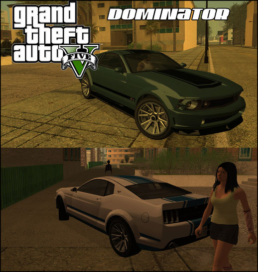 GTA V Vapid Dominator