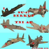 SU-47 Berkut Indonesian AirForce