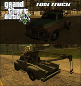 GTA V Vapid Tow Truck Cleaned